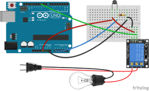 2n 12v Wiring Diagram How To Set Up A 5v Relay On The Arduino Arduinod16