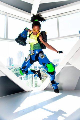 Leaping Lucio Overwatch Cosplay Adafruit Industries
