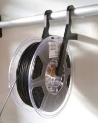 Wall mounted filament spool holder #3DThursday #3DPrinting ...