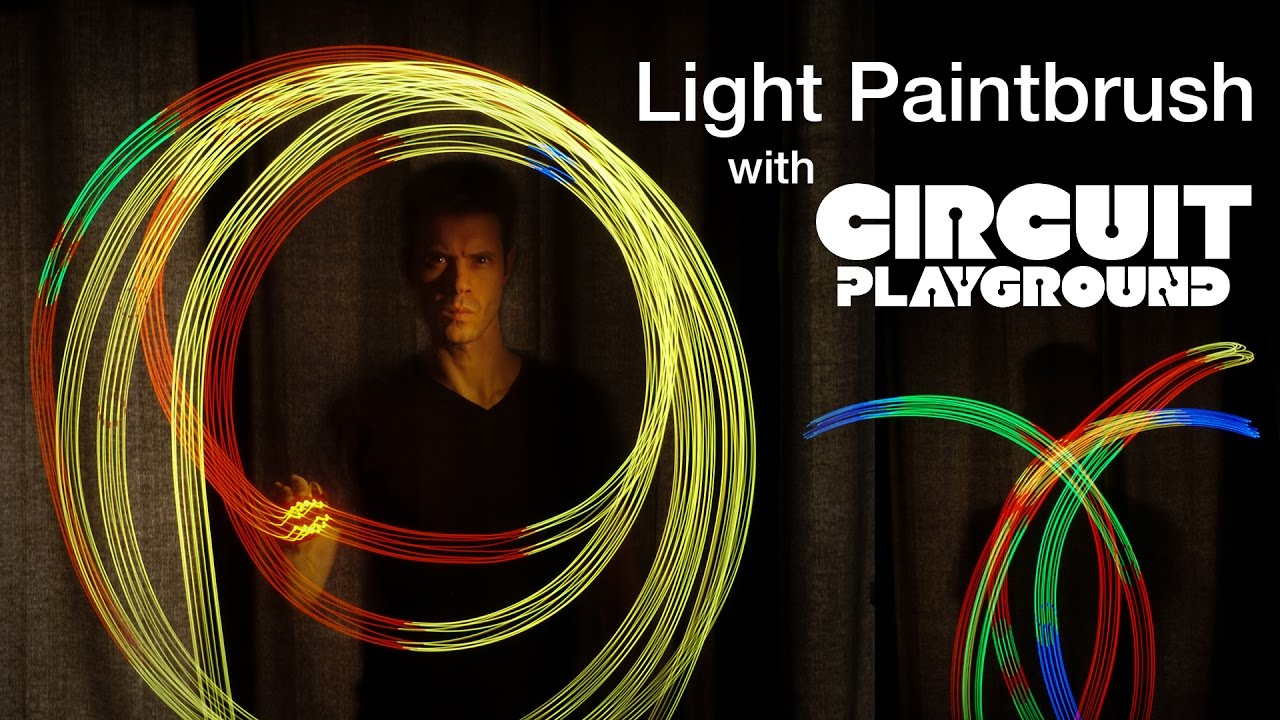 NEW GUIDE John Parks Light Paintbrush with Circuit