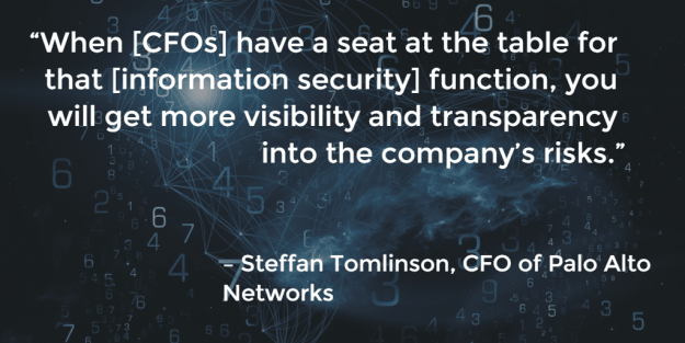 Quote from CFO of Palo Alto Networks