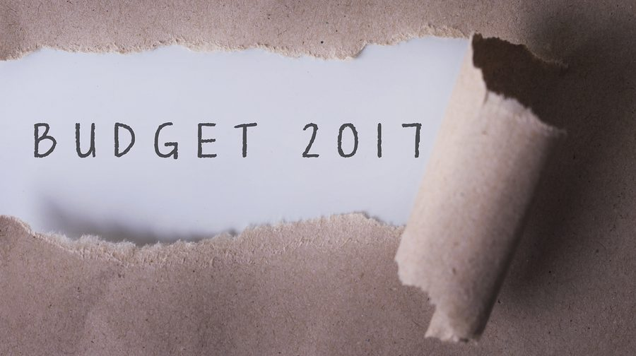 torn paper with word budget 2017.Copyspace area--How to Improve Your Financial Budgeting Process