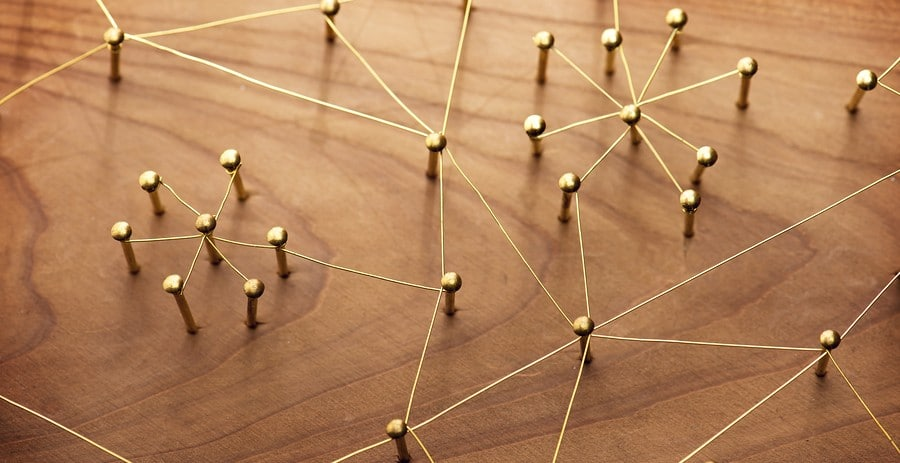 Network of connections