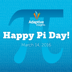 Happy Pi Day - March 14 - Adaptive Insights