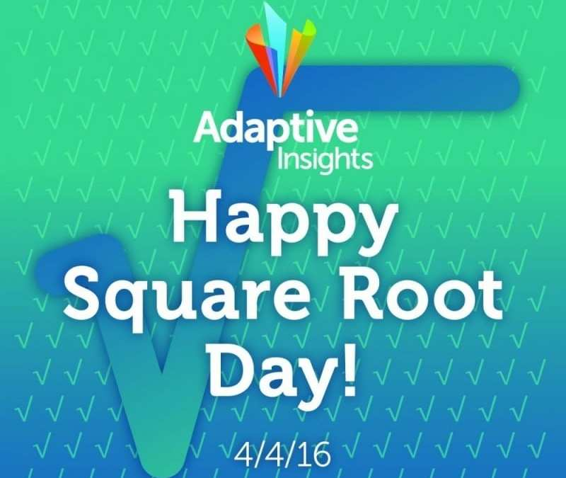 Happy Square Root Day