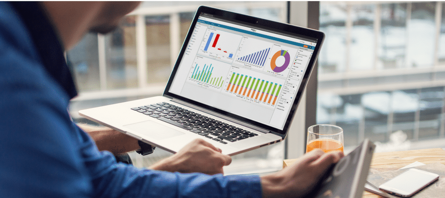 Data visualization; But by visualizing financial data, you can quickly and easily present the numbers in a way that tells the story behind them.