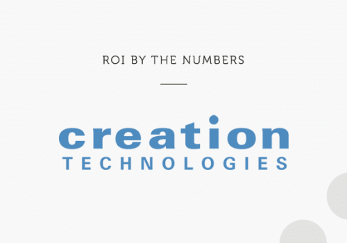 This ROI Spotlight highlights the success Creation Technologies enjoyed after implementing the Adaptive Insights Business Planning.
