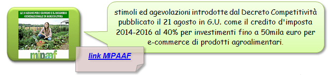 Mipaaf Decreto Competitività