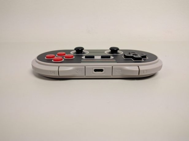 The 8bitdo NES30 Pro's shoulder button placement leaves a lot to be desired.