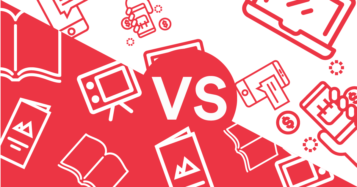 While those things are still essential, a significant part must also include a digital marketing strategy. Digital Marketing Vs. Traditional Marketing: Let The ...