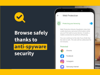 Popunder offers_Norton_My mobile security