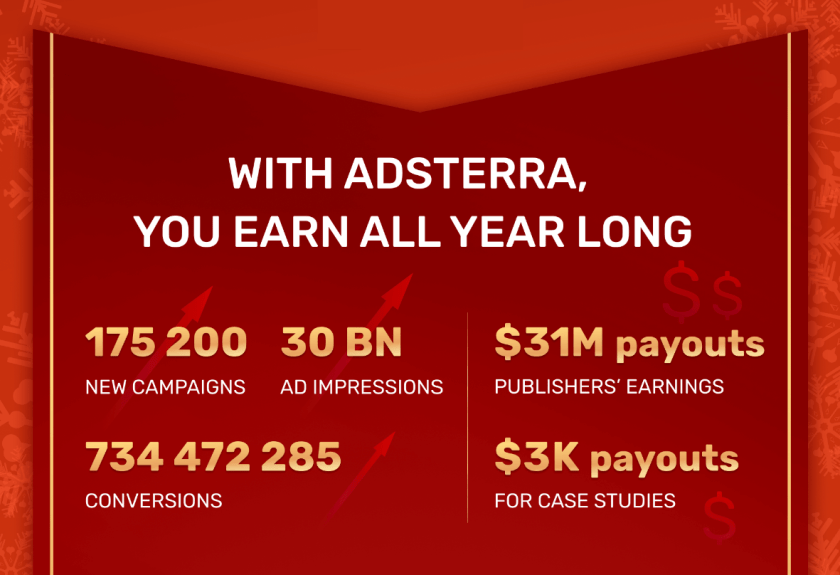 Adsterra 2020 highlights