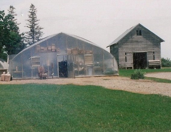 Double Polyfilm Greenhouse