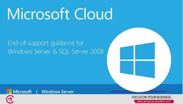 Fin de Support de Windows et SQL Server 2008 Et 2008 R2