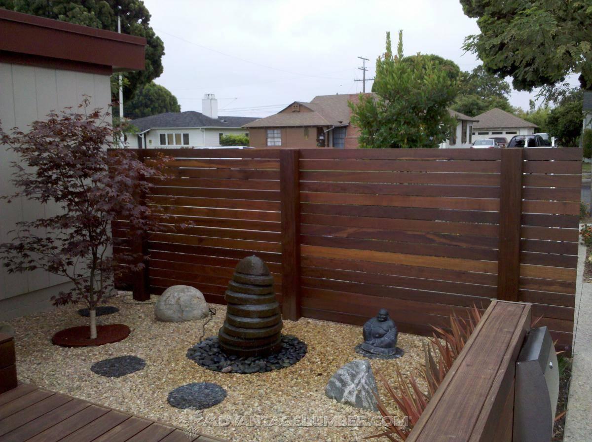 Best Wood For A Horizontal Fence Advantagelumber Blog