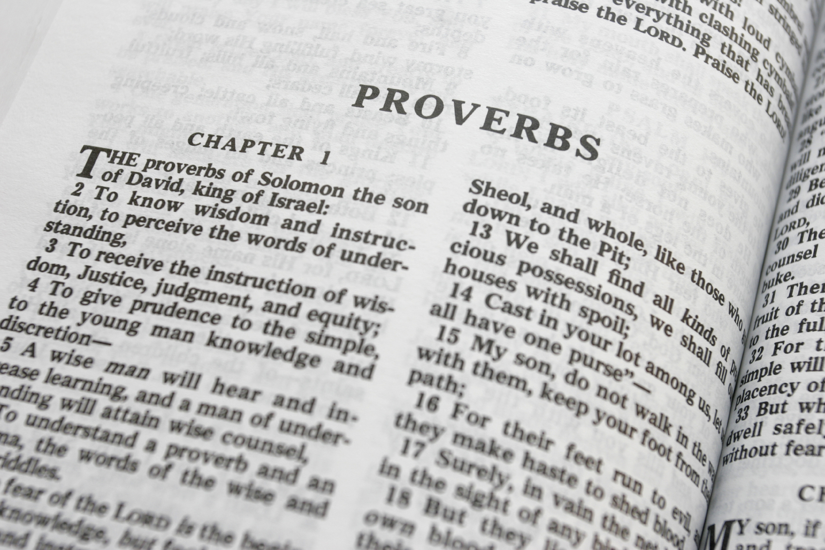 What The Book Of Proverbs Has To Say About The Current Age
