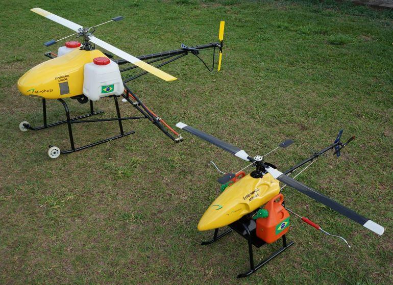drone para pulverização