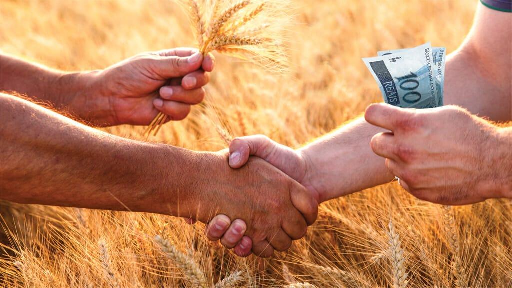 venda de grãos
