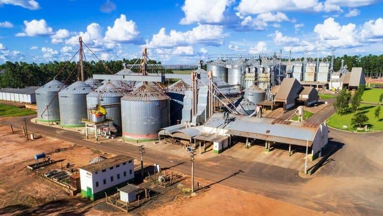 armazenamento de silos