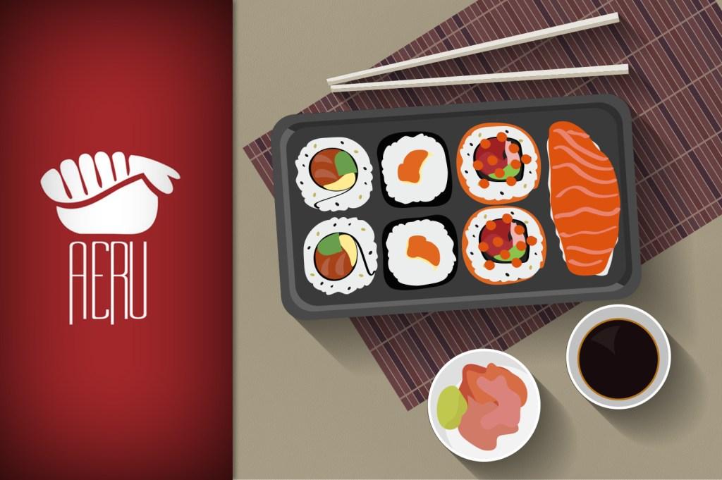 Sushi não é só um bolinho de arroz