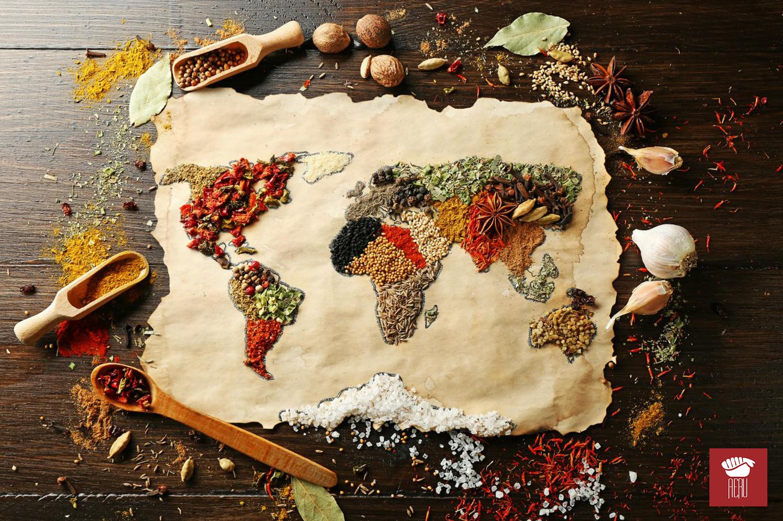 Como é a alimentação mundo afora