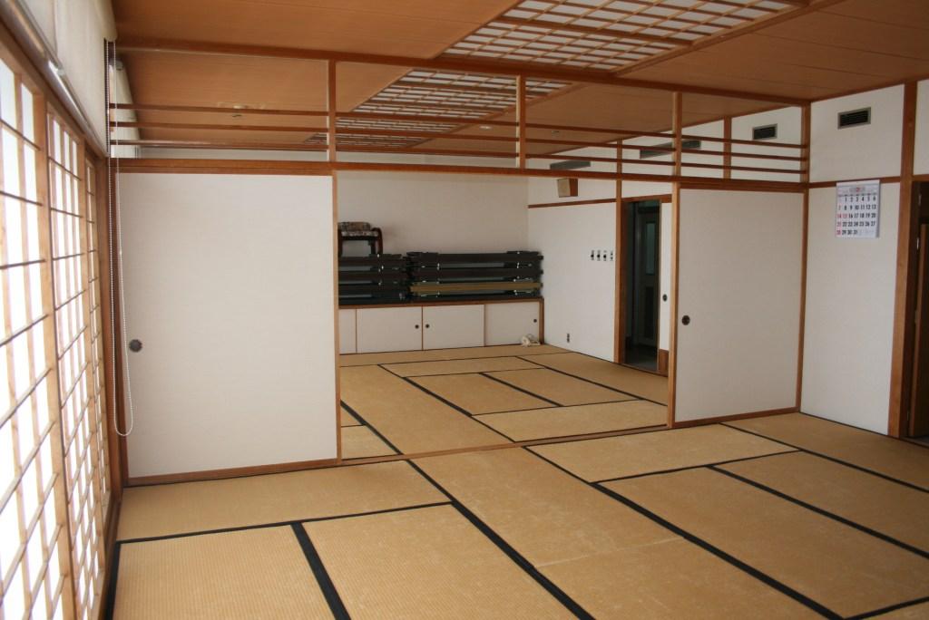 chão de tatame
