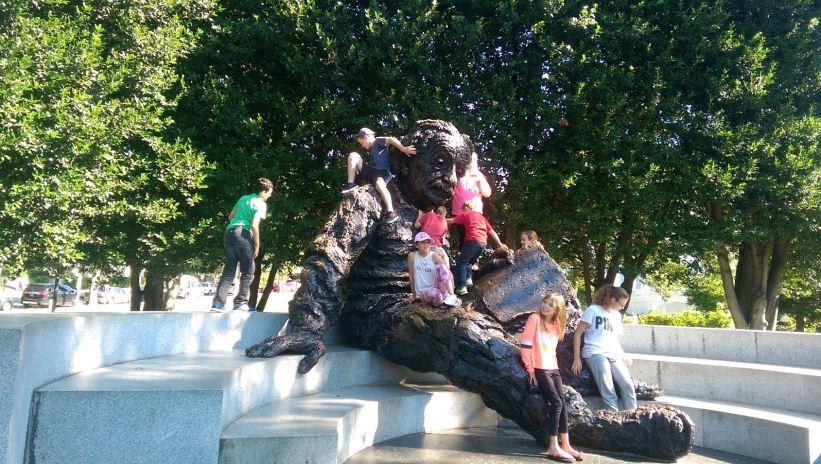 Trafalgar - Trails of Liberty: Einstein Statue
