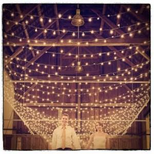 DIY Wedding Lighting