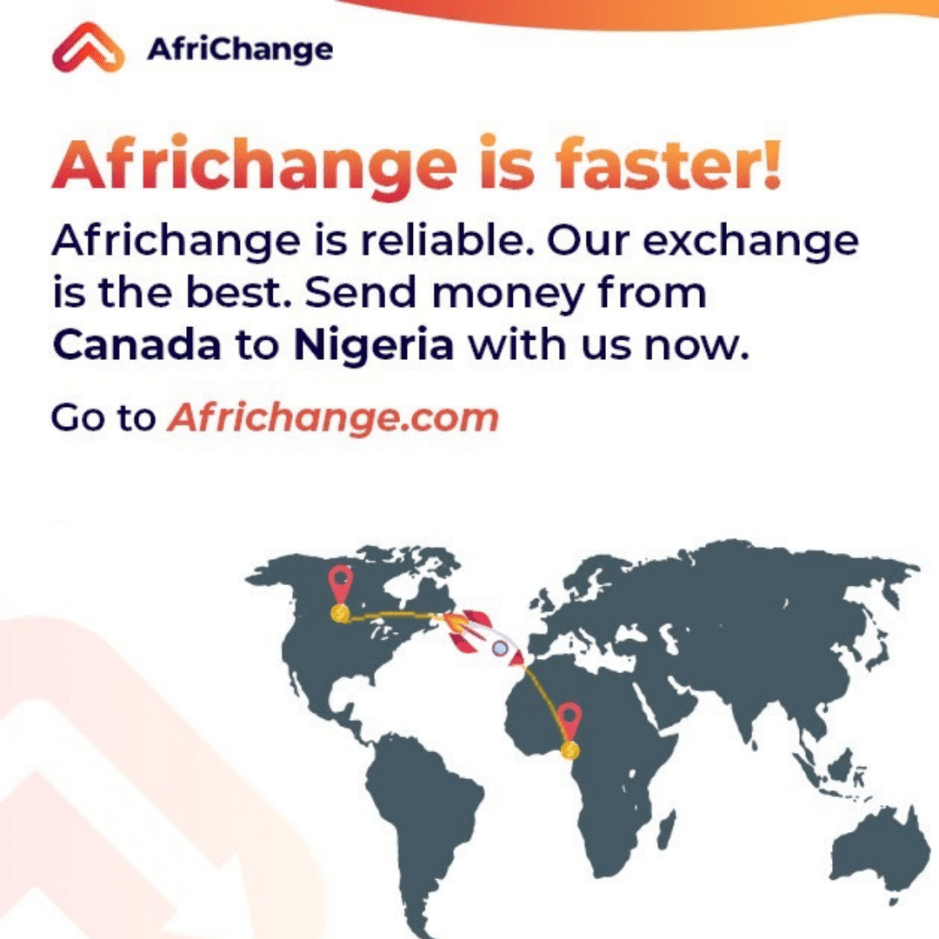 Send money from Canada to Nigeria