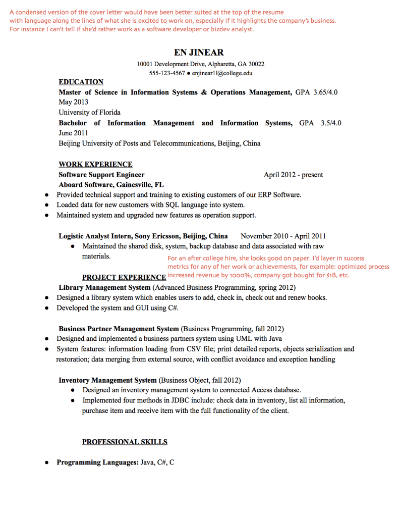 Examples Engineering Resumes Cover Letter Example Electrician