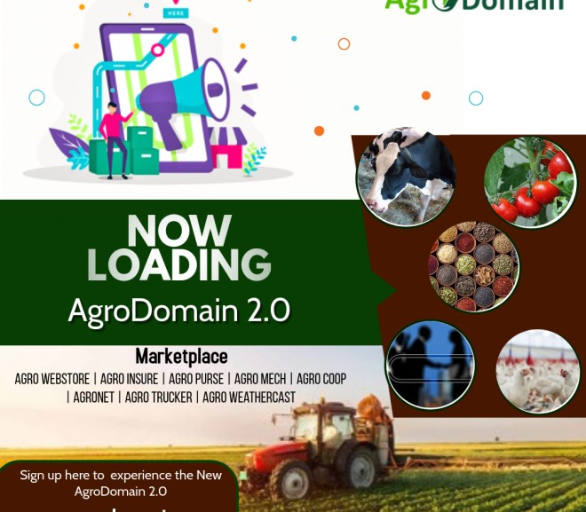 AgroDomain 2.0 NOW LOADING!