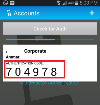 Azure Multi-Factor Authentication server 34