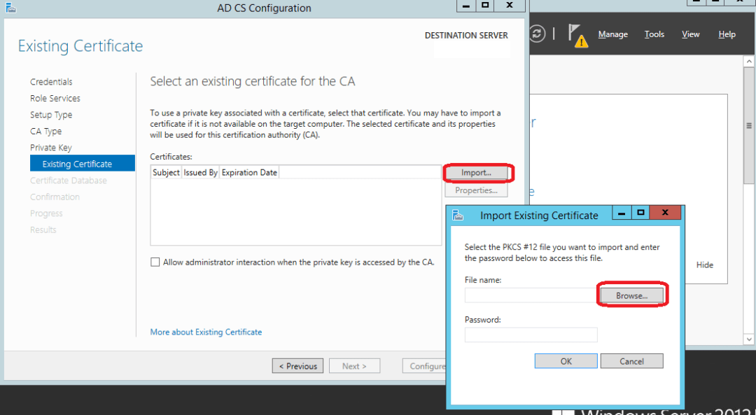 Migrate your certification authority root CA to Windows 2012 R2 13