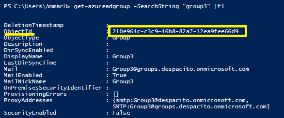 Office 365 Groups Policy Settings 1
