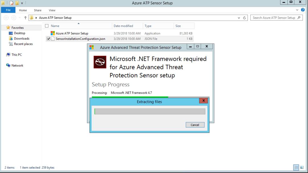 Azure advanced threat protection deployment 16