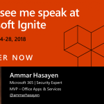 Come see me speak at Microsoft Ignite in Orlando