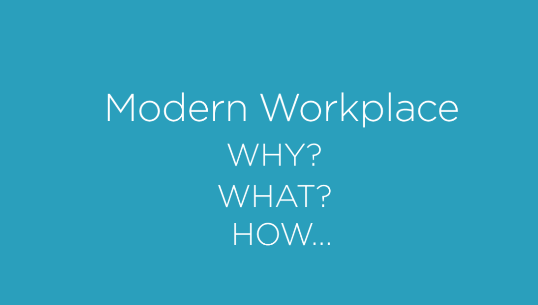 The Emerge of The Modern Workplace 3