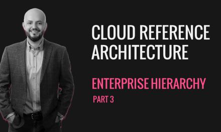 Cloud Reference Architecture CRA P3 – Enterprise Structure