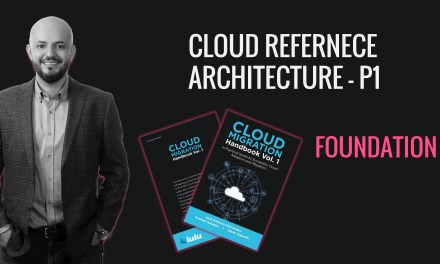 Cloud Reference Architecture CRA P1 – Foundation