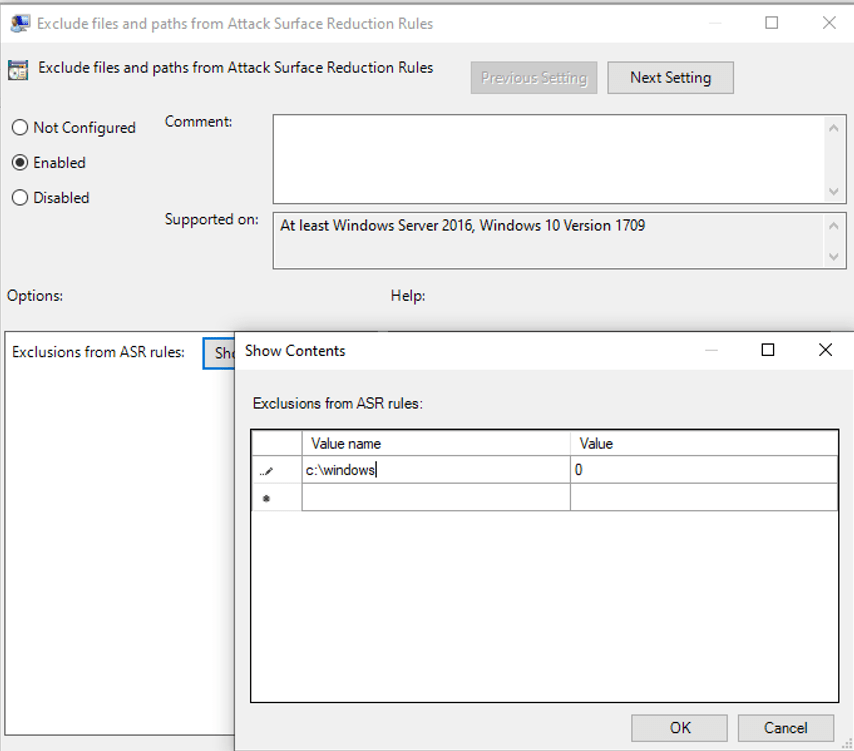 MS Defender for Endpoint - Attack Surface Reduction ASR 1