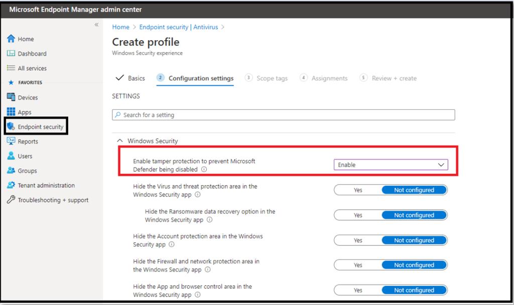 Microsoft Defender Antivirus - Microsoft Defender for Endpoint 14