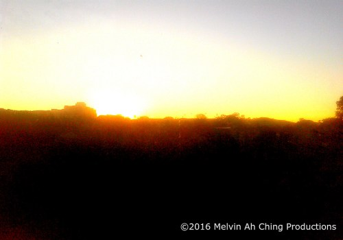 The First Sunrise of 2016