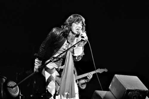 Mick Jagger in 1976