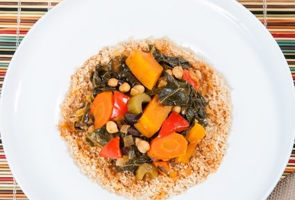 A Vegetarian Moroccan Stew To Savor