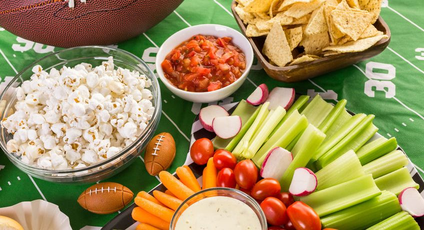 Favorite Cancer-Fighting Football Snacks