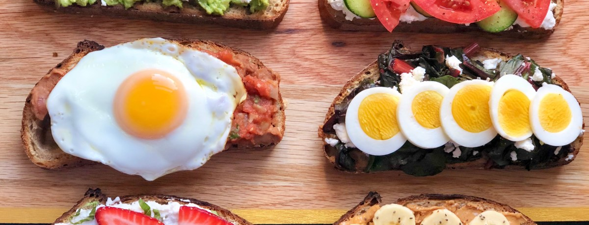 6 Breakfast Toasts to Kickstart Your Day
