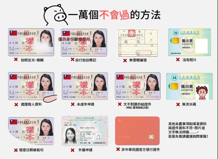 失敗的身份驗證
