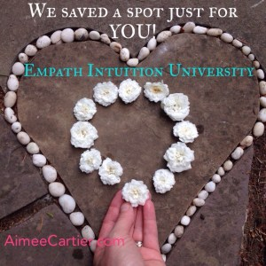 Empath Intuition University we saved you a spot