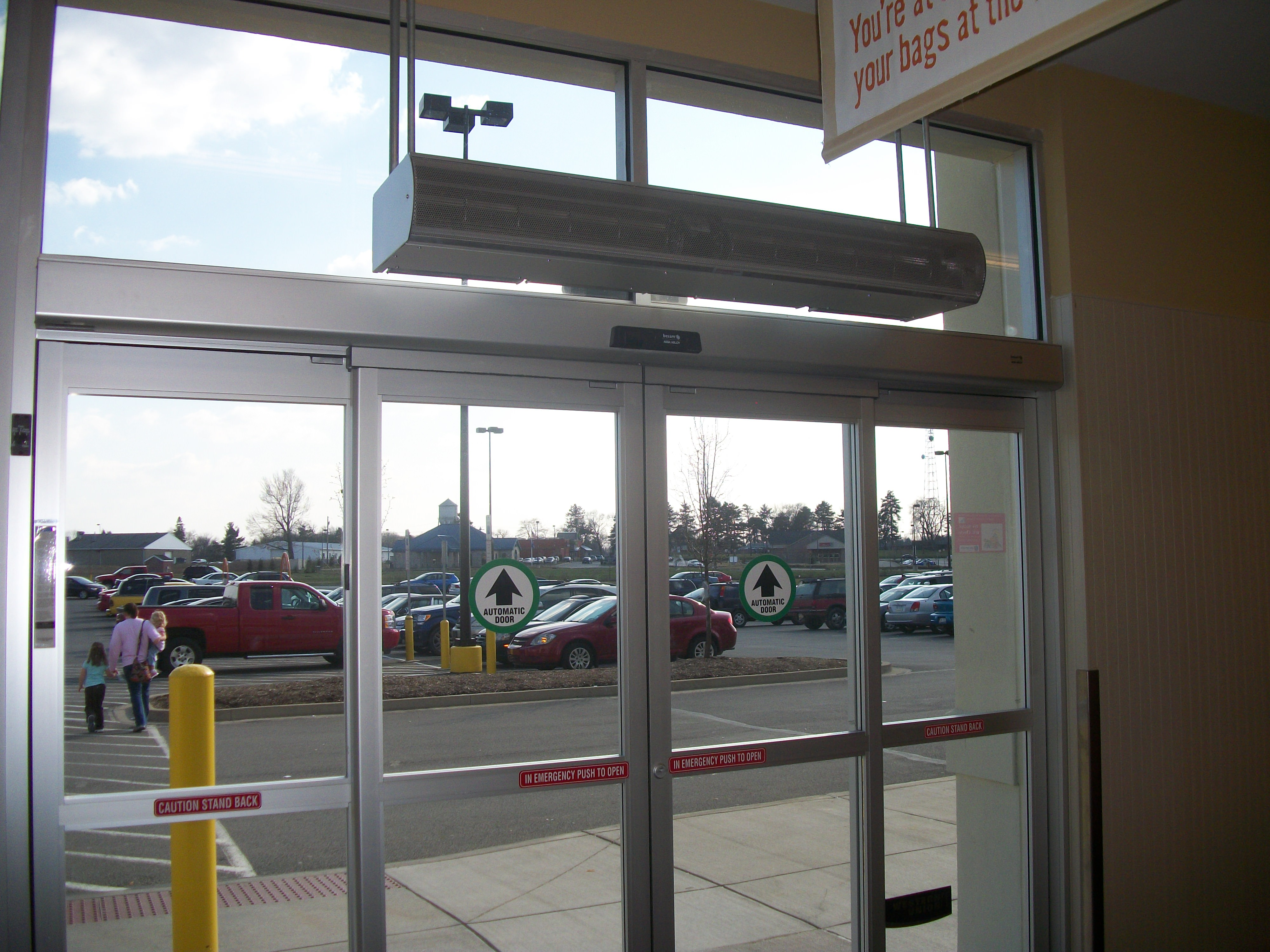 Do Air Curtains Really Work Why Air Doors Are Efficienct
