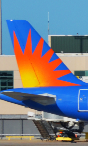 allegiant airlines livery tail